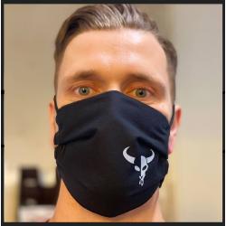 Kofmehl Stoff-Maske